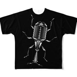 オトシブミ フルグラフィックTシャツ