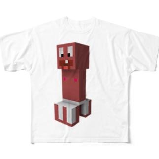 隆起~erect~ Full graphic T-shirts
