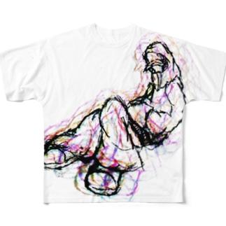 からふる Full graphic T-shirts