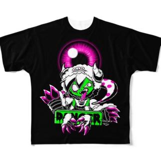 覚醒ガブ Full graphic T-shirts