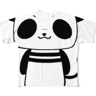 ぱんま君 フルグラフィックTシャツ