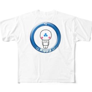 りっぴぃくん フルグラフィックTシャツ