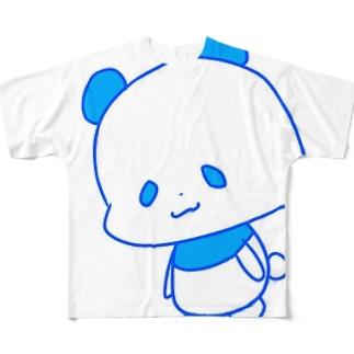 おにぎらないパンダ Full graphic T-shirts