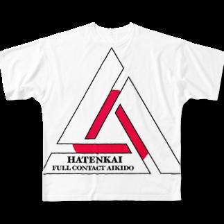 hatenkaiの覇天会のグッズ8 Full graphic T-shirts