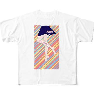 jk's bi-kya-ku Full graphic T-shirts
