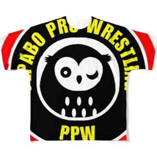 【公式グッズ】PPW(Pepabo Pro-Wrestling) Full graphic T-shirts