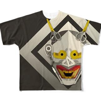 HANNYA@BUNGU Full graphic T-shirts