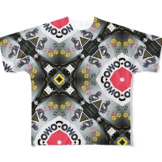 コンクリートトラックにも、ストリートアート Full graphic T-shirts