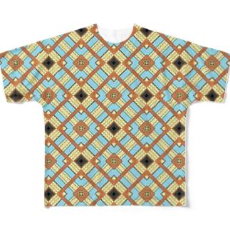 シドニーのかわいいビル柄。でもこれは可愛く無い。 Full graphic T-shirts
