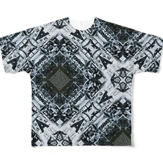 昔のシドニーの工事現場の写真 Full graphic T-shirts