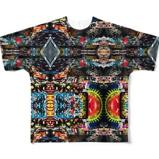 ストリートアート巡り通常盤 Full graphic T-shirts
