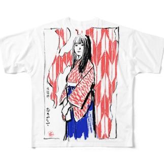 志月かなで フルグラフィックTシャツ