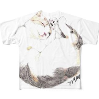 TAMA  フルグラフィックTシャツ