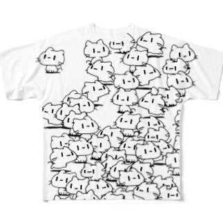 どどねこ-たくさん- Full graphic T-shirts