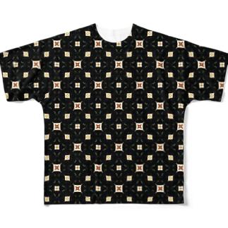キャッツアイ!よく見てキャッツアイだよ! Full graphic T-shirts