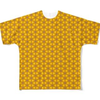 ヒマすぎるが故に出来た柄。 Full graphic T-shirts