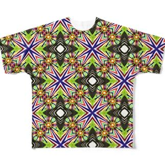 ブエノスアイレスのストリートアート Full graphic T-shirts