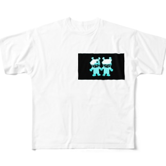 極悪人 Full graphic T-shirts