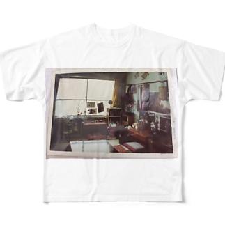 あの、ワンルーム Full graphic T-shirts