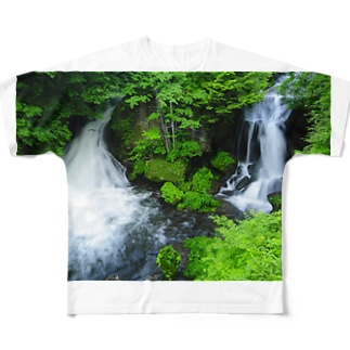 Ryuzu Falls Full graphic T-shirts