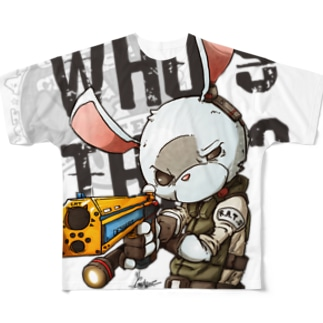Who's that ? Full graphic T-shirts
