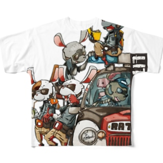 LITTLE REST ! Full graphic T-shirts