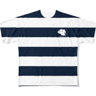 どどねこ-シマシマ- フルグラフィックTシャツ