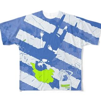 Rain.  フルグラフィックTシャツ