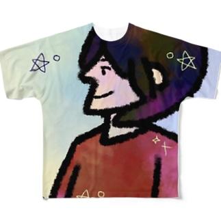 ぎだい フルグラフィックTシャツ