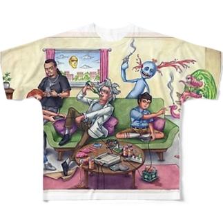 ヤジ用1 フルグラフィックTシャツ