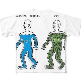 ヤジ用4 フルグラフィックTシャツ