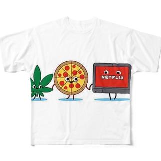 ヤジ用5 フルグラフィックTシャツ