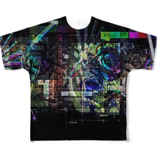 タイトル3 フルグラフィックTシャツ