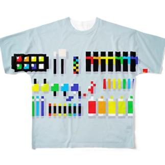 画材とか フルグラフィックTシャツ