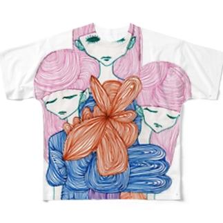 粘膜服 Full graphic T-shirts