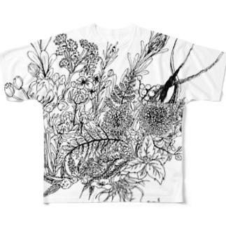 HANA フルグラフィックTシャツ