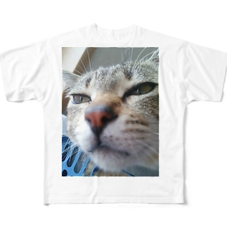 ニャンタですがなにか? Full graphic T-shirts