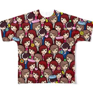 VANILLA ALL STARS フルグラフィックTシャツ