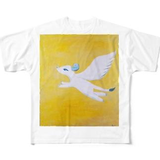 真昼の翼 Full graphic T-shirts