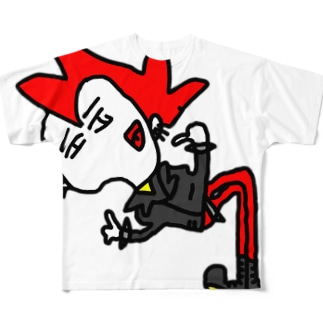 エイティーズさん Full graphic T-shirts