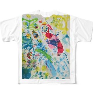 アイシテル Full graphic T-shirts