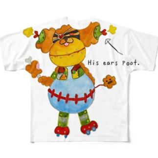 ROBOBO「ガジュマルロボ」 Full graphic T-shirts
