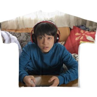 スケーター(F) フルグラフィックTシャツ