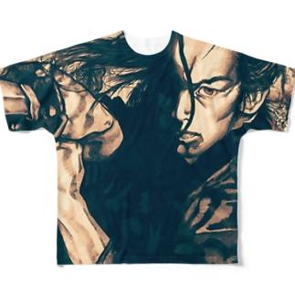 勝負! Full graphic T-shirts