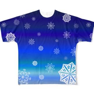 jazz_snow フルグラフィックTシャツ