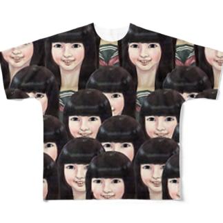 女学生・・・ Full graphic T-shirts