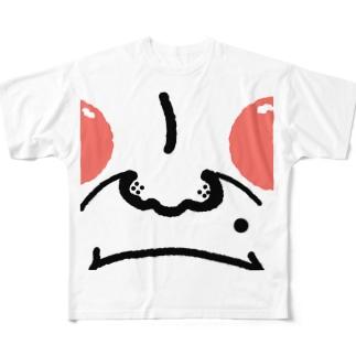 パンパンマン Full graphic T-shirts