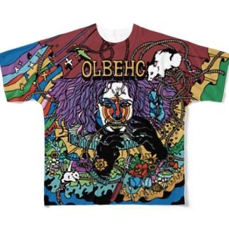 OLBEHC【Dark A】 フルグラフィックTシャツ