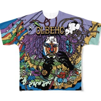 OLBEHC【Dark B】 Full graphic T-shirts