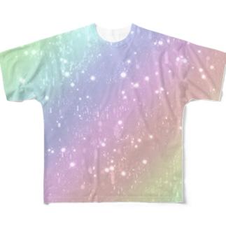 Rain フルグラフィックTシャツ